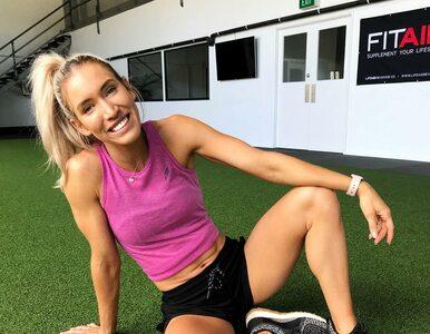 Trenerka fitness urodziła. Podczas ciąży ćwiczyła na siłowni