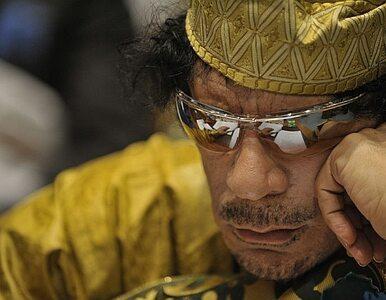 Kadafi: naród mnie popiera, a ofiary to robota band z Al-Kaidy