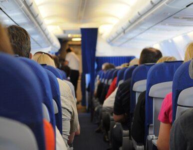 """Awantura w samolocie. """"W ten sposób rozprzestrzenia się koronawirus"""",..."""