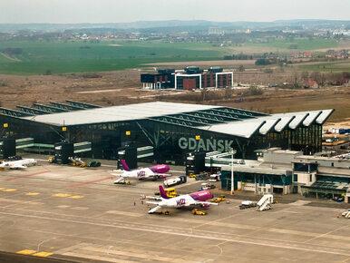 Niebezpieczny incydent na lotnisku w Gdańsku. Kobieta zaatakowana...