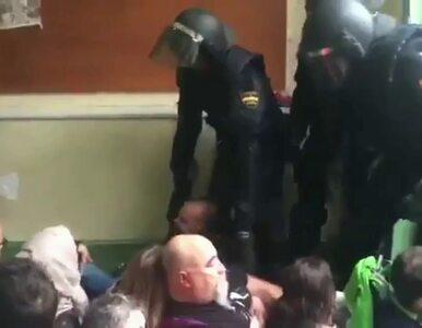 Brutalna interwencja policji podczas referendum w Katalonii. Do sieci...
